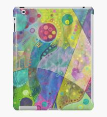 Abstract intersection painting - 2014 iPad Case/Skin