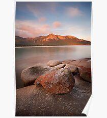 Mt Strzelecki from Trousers Point, Flinders Island Poster