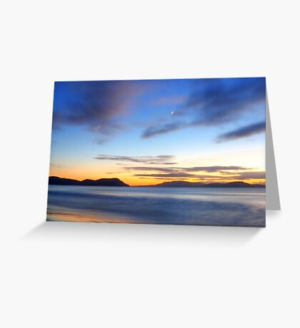 Morning in Marion Bay Greeting Card