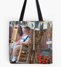 Shop Hopping Can Be a Drag... Tote Bag