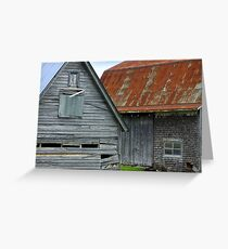 Barns,barns,barns Greeting Card