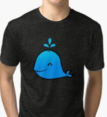 WHALE! Tri-blend T-Shirt