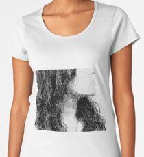 Mysterious Woman Women's Premium T-Shirt