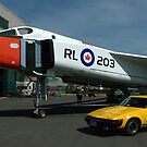 Miss Penny Lane and The Avro Arrow..... by Larry Llewellyn