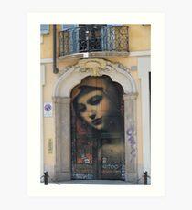 Madre di Milano Art Print