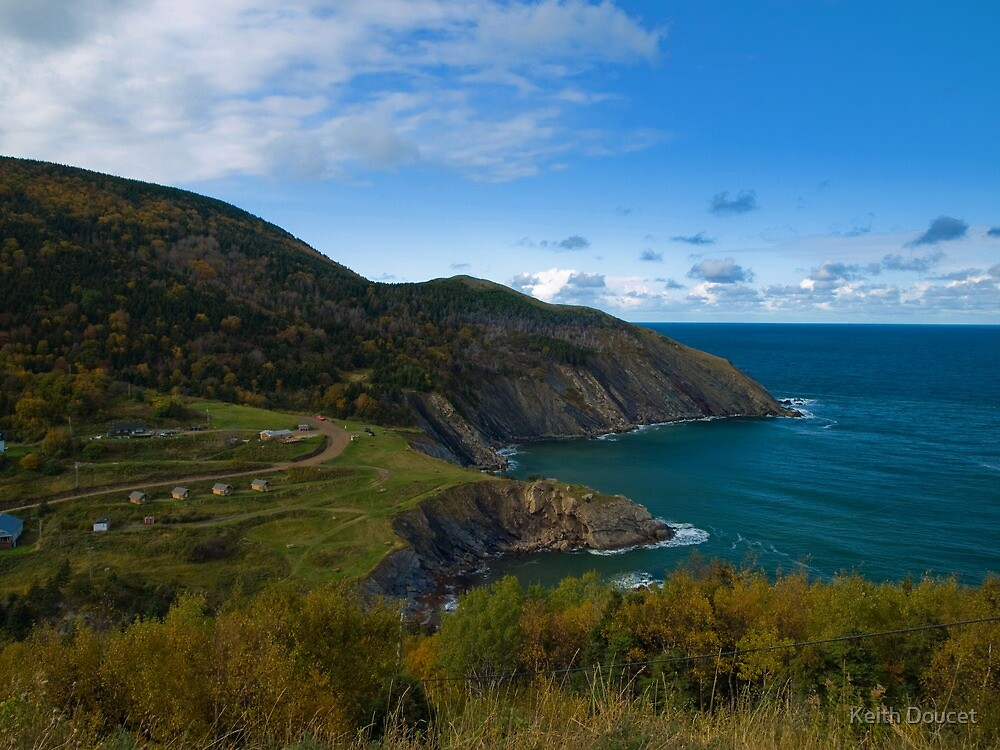 Meat Cove - Cape Breton by Keith Doucet