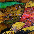 """She's All Washed Up -(Printmaking and TEXTA) by Belinda """"BillyLee"""" NYE (Printmaker)"""