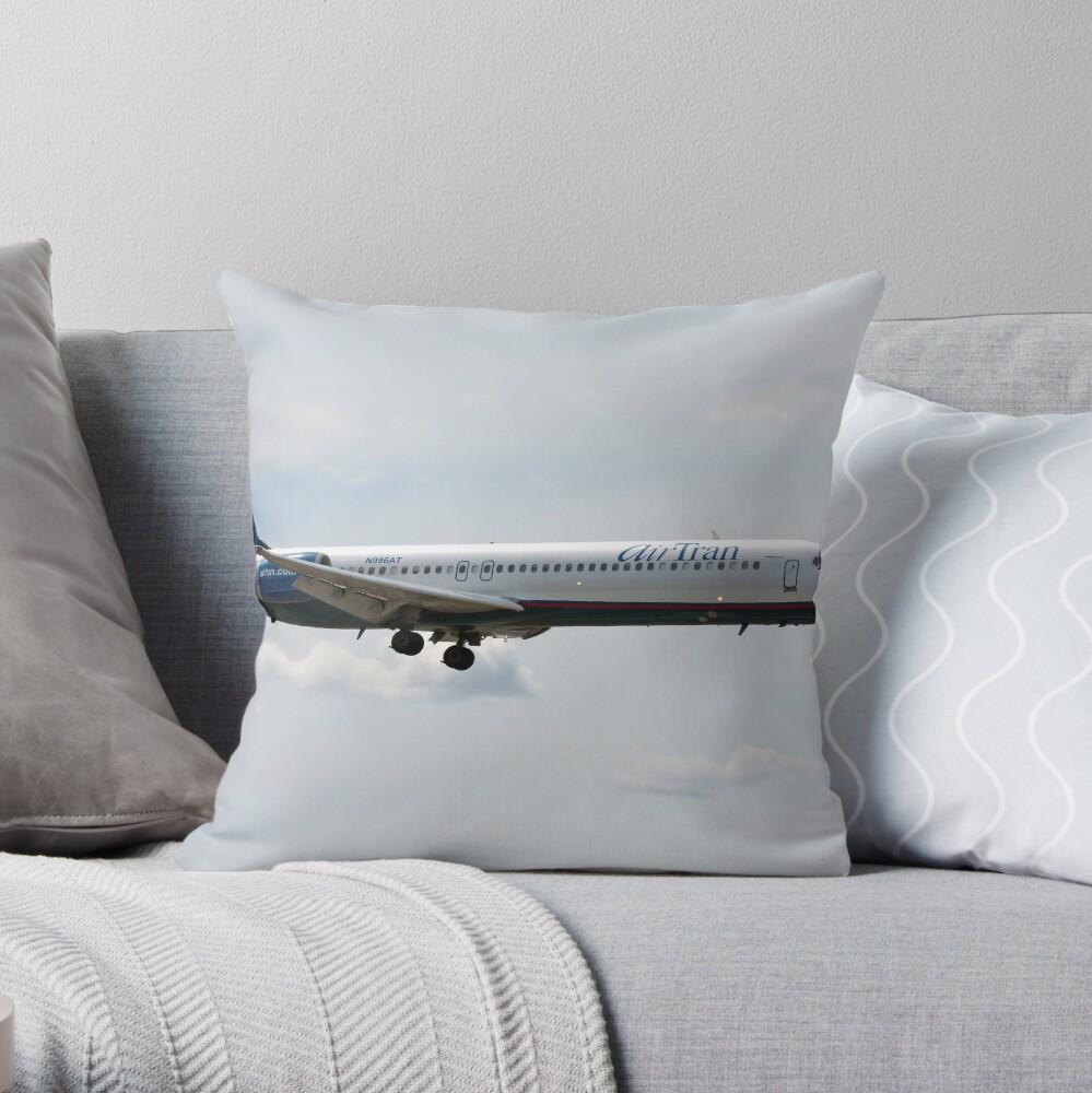 Boeing 717-200 Throw Pillow