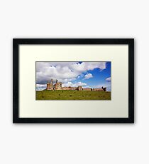 Dunstanburgh Castle Framed Print