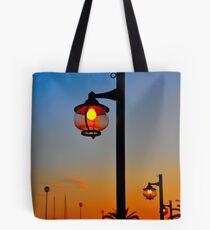 Street Lamps Tote Bag