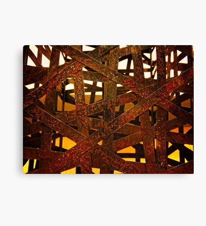 Strapped Canvas Print