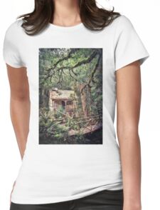Woodland Mysteries Womens Fitted T-Shirt