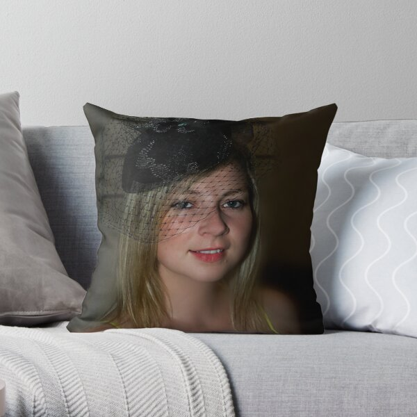 My daughter Throw Pillow
