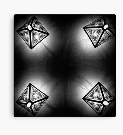 Kaleidoscope on the Ceiling Canvas Print