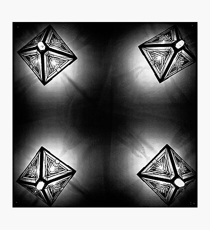 Kaleidoscope on the Ceiling Photographic Print