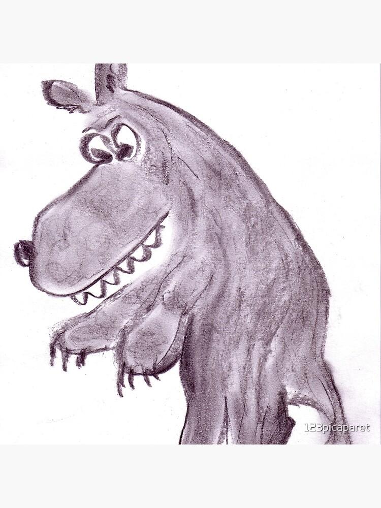 Frightening werwolf by 123picaparet