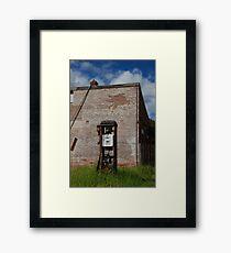 The Glen Davis Bowser Framed Print