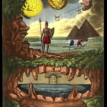 Die alchemistische Arkana und der verborgene Schatz der Weisheit von monsterplanet
