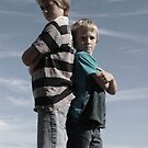 Little brothers, xx by Courtney  Gillan