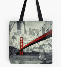 Essence of San Francisco Tote Bag