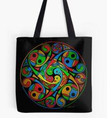 Bolsa de tela Celtic Stained Glass Spiral