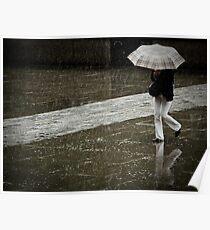 Burberry rain Poster