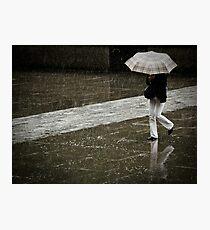 Burberry rain Photographic Print