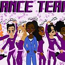 Dance Team - Grunge by CrossXComix