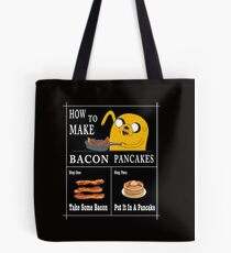 How To: Bacon Pancakes Tote Bag