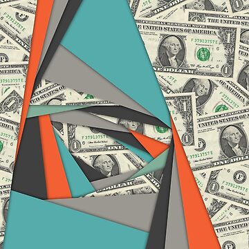 Colorful Currency Collage by morningdance