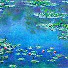Claude Monet Seerosen verbessert von CoitoCG