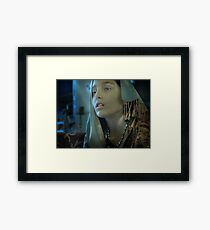Istanbul Girl Framed Print