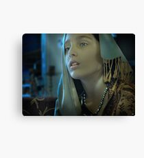 Istanbul Girl Canvas Print