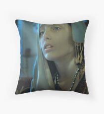 Istanbul Girl Throw Pillow