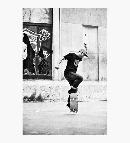 Dancing on wheels 2 Photographic Print