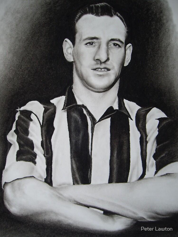 Frank Brennan FA Cup winner NUFC by Peter Lawton