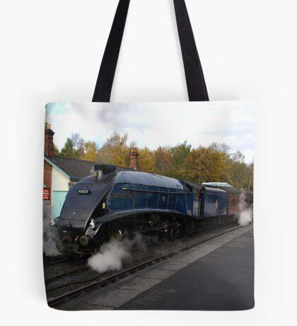 Steam at Grosmont  - North Yorks. Tote Bag
