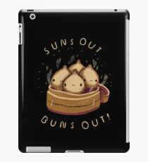 suns out buns out! iPad Case/Skin