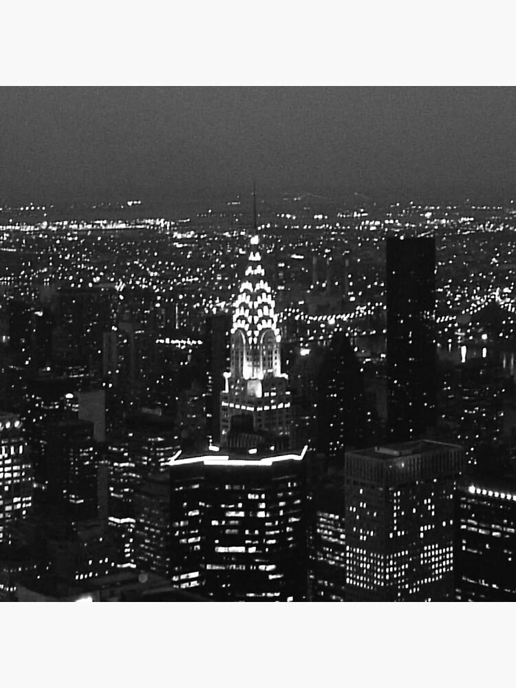 Skyline de Nueva York de weedlemeyer