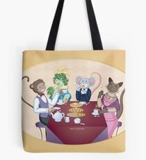 Animal Tea Party Tote Bag