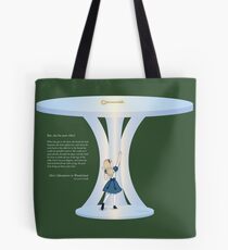 Alice Reaching for the Golden Key Tote Bag