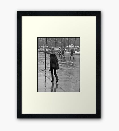 Small Comforts Framed Print