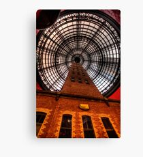 Coops Shot Tower - Angle #1, Melbourne - The HDR Experience Canvas Print