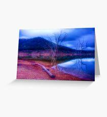 Dusk at Lake Eildon #1 Greeting Card