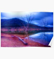 Dusk at Lake Eildon #1 Poster