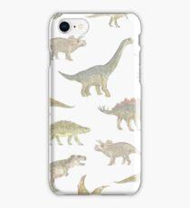 Dinosaur Pattern iPhone Case/Skin