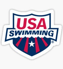 Swimming America Sticker
