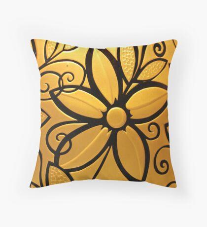 Goldenrod Throw Pillow