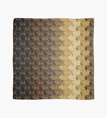 Brown Tabby Vertical Stripe Cattern [Cat Pattern] Scarf