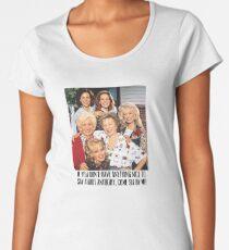 Steel Magnolias  Premium Scoop T-Shirt
